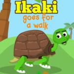 ikaki Goes for a walk, Cover